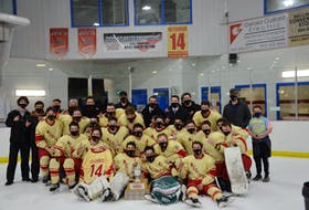 The Arsenault's Fish Mart Western Red Wings won the Abram-Village-based franchise's fourth straight Island Junior Hockey League championship on Wednesday night. The Red Wings defeated the A&S Scrap Metal Metros 6-1 at the Evangeline Recreation Centre to claim the best-of-seven championship series in five games.