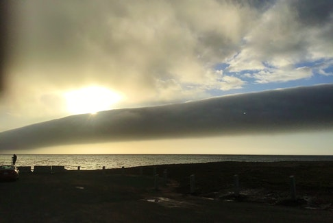 You might know Cape Jack Beach in Antigonish County, N.S., but you might not recognize it looking like this! Earlier this month, a rare roll cloud stopped Kay Boucher in her tracks. She said it was very impressive and extended much farther to the right, well beyond the edge of her great photo.