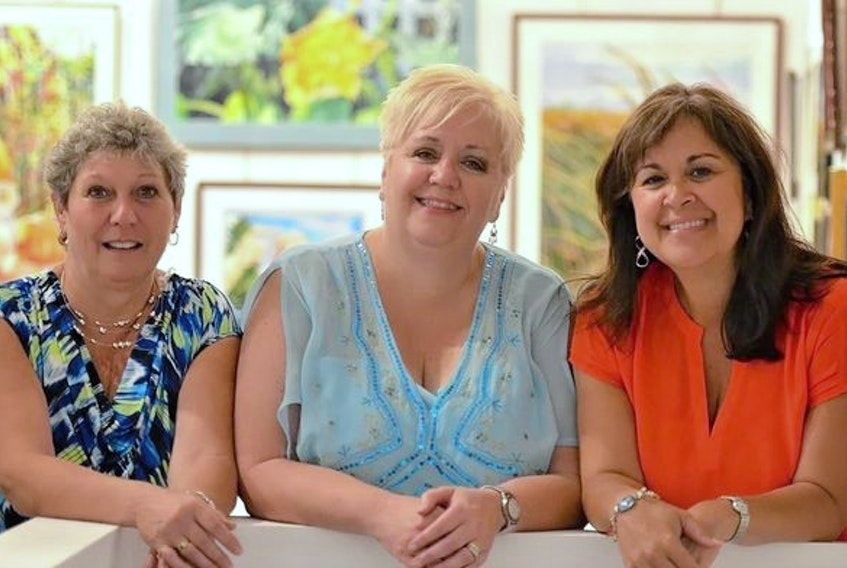 Debbie Rivard (left), Lois O'Hanley-Jones and Patty Dunlop make up the Blind River, Ontario band Women in Song. Based on a 2011 trip to Truro by Dunlop, the trio created the song Memories of Truro, which is on their new CD Life of a Woman.