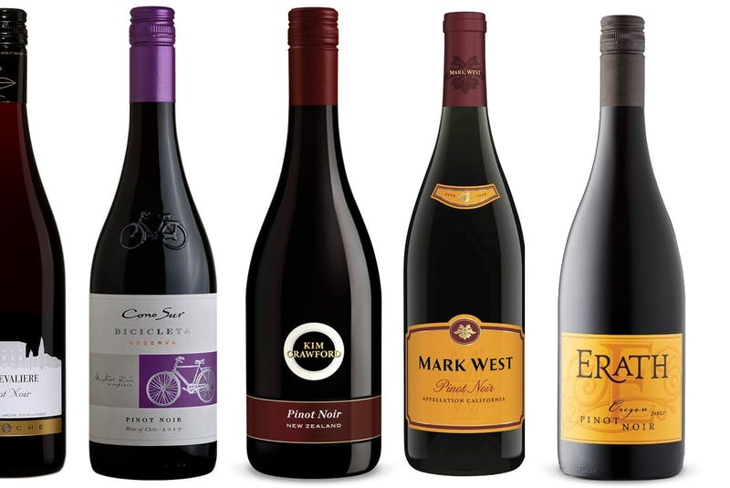 A collection of great value Pinot Noir. - Julia Webb