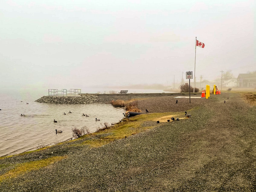 The barrier-free fishing site at John Bernard Croak Memorial Park in Glace Bay. CONTRIBUTED • Port Morien Wildlife Association - Contributed