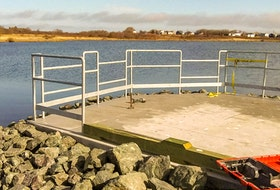 The barrier-free fishing site at John Bernard Croak Memorial Park in Glace Bay. CONTRIBUTED • Port Morien Wildlife Association