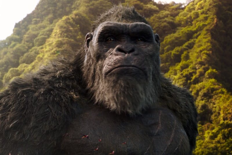 King Kong is so over dealing with these pesky humans all the time. - Warner Bros. Pictures   - Contributed