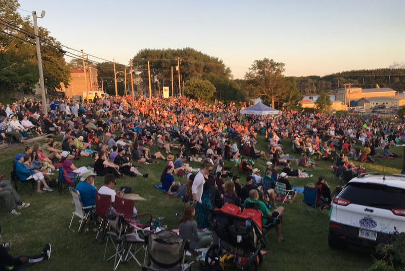 The Granville Green concert series in Port Hawkesbury has been a popular summer event for years, as shown from this photo taken in 2019, during its 25th anniversary and the last time the series was held. COVID-19 restrictions have prevented the series from taking place in 2020 and again this year but hopes remain high it will return in 2022. CONTRIBUTED/FACEBOOK