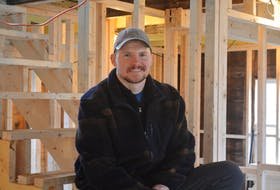 Walter Lynch is in the middle of restoring a 105-year-old biscuit box home in Brigus.