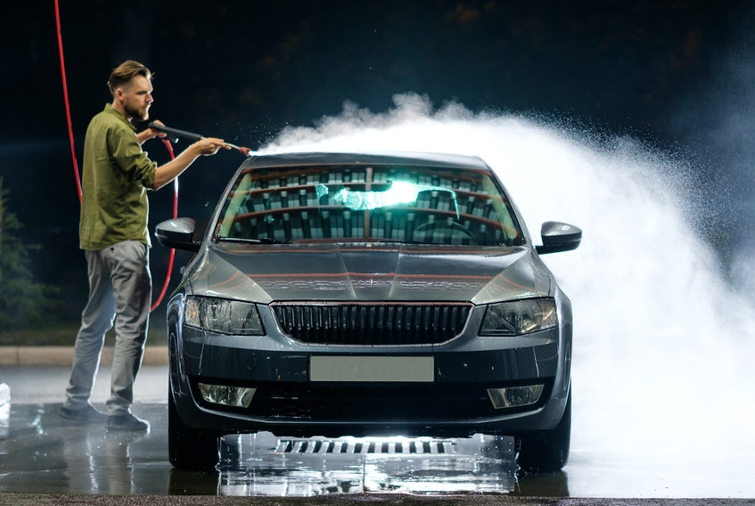 Washing your newly purchased car is hardly the only thing you should do to maintain its look and longevity. 123rf stock photo