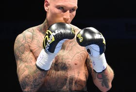 Ryan Rozicki of Sydney Folks remains undefeated as a professional after a sixth-round left hook knockout of Montréal's Sly Louis gave him his 13th consecutive win. It was Rozicki's first fight since February 2020. FILE PHOTO