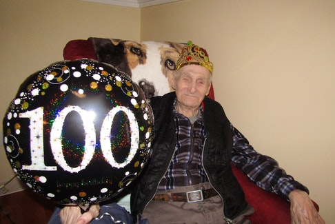 On April 18, Summerside manor resident and Second World War veteran Percy DesRoches celebrated his 100th birthday.