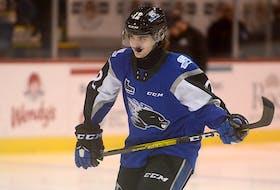 Brady Burns, a Port Williams, N.S., native, is a third-year forward with the Saint John Sea Dogs of the Quebec Major Junior Hockey League.