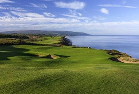 Cabot Cliffs, shown above, is one of two championship 18-hole golf courses at the Cabot Links resort in Inverness. POSTMEDIA PHOTO