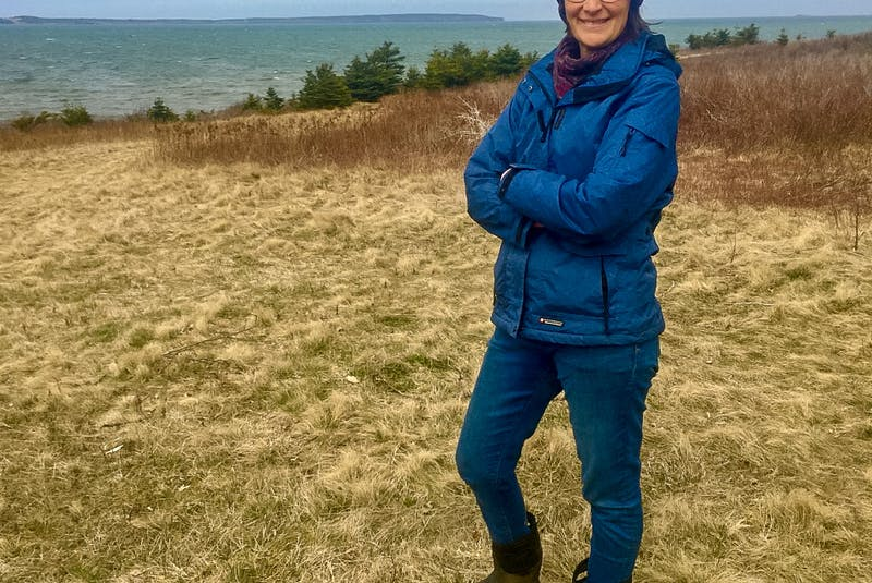 Catherine Fergusson lives in South Head across the bay from Donkin Mine. She and her husband are awakened in the middle of the night by the hum that emanates from the Donkin Mine fans. CONTRIBUTED