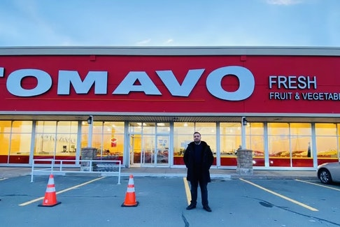 Tomavo CEO Amer Khaled says the fruit and vegetable market brings fresh, imperfect produce at perfect prices to its New Brunswick and Nova Scotia customers. - Photo Contributed.
