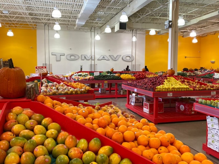 Tomavo produce is fresh and affordable because it is shipped right from the producer or supplier to each Tomavo market. - Photo Contributed.