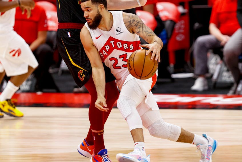 Raptors guard Fred VanVleet says he is banged up but that won't stop him from giving it his all.