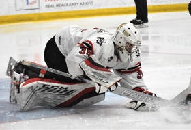 Truro native and Bearcats' starting goaltender Alec MacDonald has had his season abruptly ended by the COVID pandemic, once again. MacDonald is among the 20-year-old graduating players as well, whom coach and GM Shawn Evans and team President Dave Higgins said they feel especially bad for.