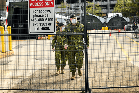 As military medical personnel prepare to help the latest COVID-19 wave in Ontario, some of the previous supports the federal government has sent to the provinces have gone unused.