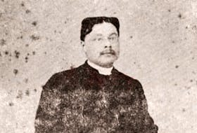 Rev. Simon Gibbons was ordained an Anglican priest in 1878.