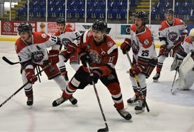 Pictou County's own Jake Martin, the Crushers' captain this season, is one of the 20-year-old graduating players general manager Chad McDavid and coach Willie MacDonald said they feel especially bad for with another season cut short due to COVID.