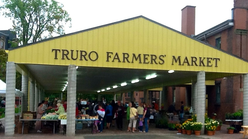The Truro Farmers' Market location will be the host site for the Talk and Stroll event. - File  photo