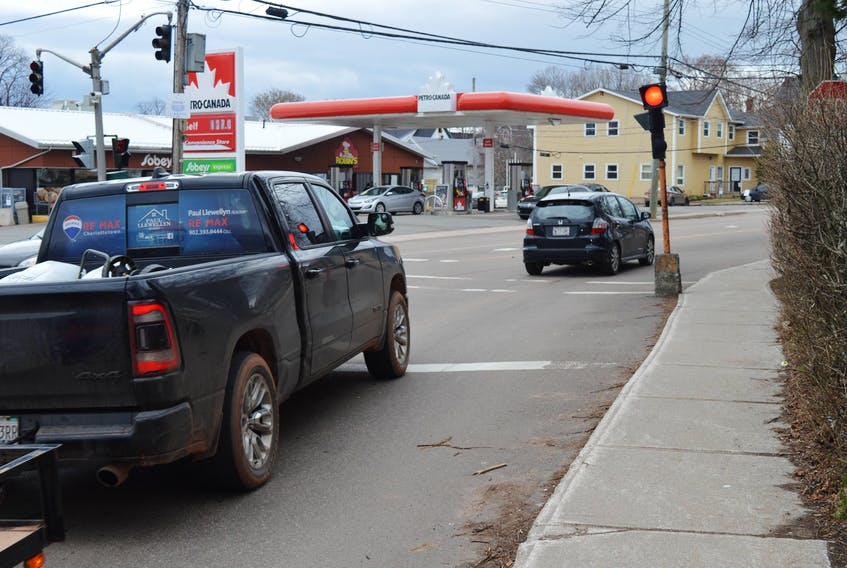 This flashing red light may soon be removed at the intersection of Longworth Avenue, Euston Street and Weymouth Street in Charlottetown. Traffic is currently required to stop at the light and then proceed to Euston Street. A proposal is going before council that would change that.