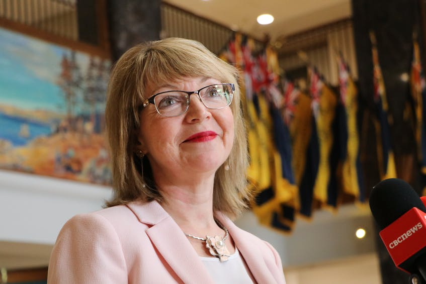 Lisa Dempster, the province's minister for Indigenous Affairs and Reconciliation, says she will hold consultations on a new name for Red Indian Lake after a public outcry about the process. Glen Whiffen/The Telegram - Glen Whiffen