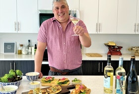 Sommelier Mark DeWolf pairs local wines with fresh local seafood.