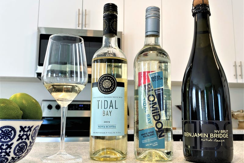 Tidal Bay and traditional-method sparkling wines are Nova Scotia's signature wine styles.  - Photo: Julia Webb