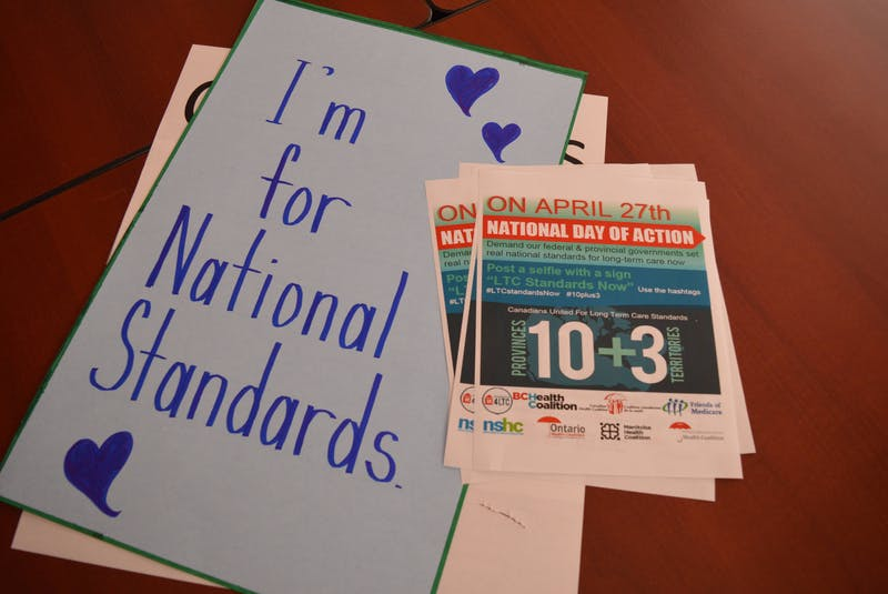 A virtual rally was held April 27 to support Canadians United for Long Term Care Standards. - Alison Jenkins • Local Journalism Initiative Reporter