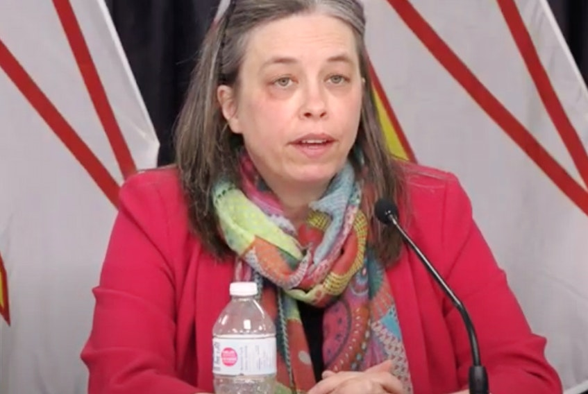 Dr. Janice Fitzgerald, Newfoundland and Labrador's chief nedical officer of health. - FIle photo