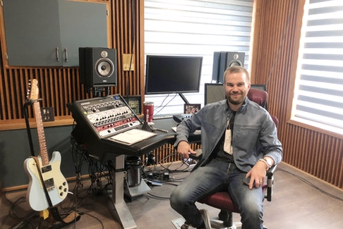Ian Kamp believes Shoebox Studios' new location in downtown New Glasgow will make it more accessible to local musicians who want to record their songs.