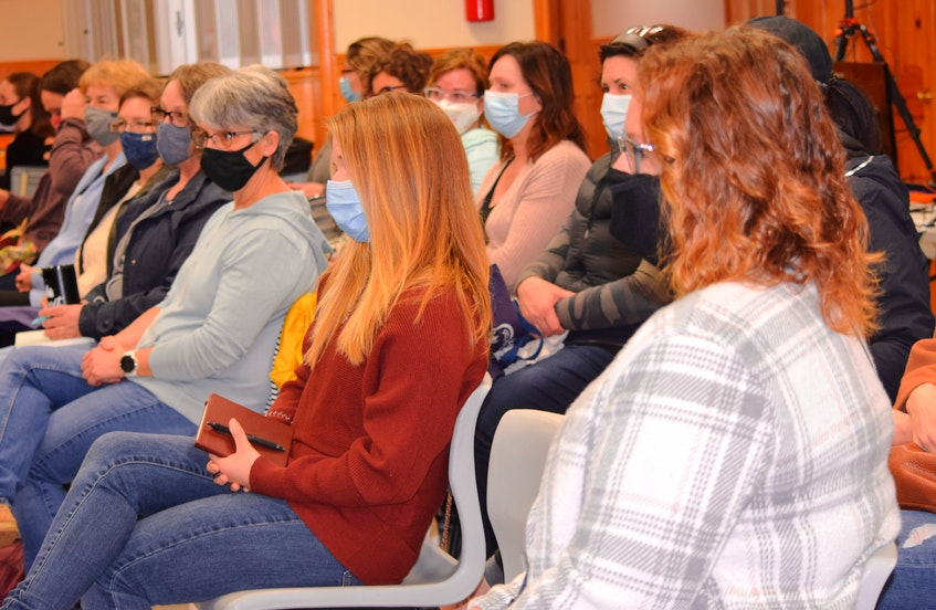 A covid size crowd attended the Simple East Coast Living Fair at the Barrington Area Lions Hall on April 17. - Kathy Johnson