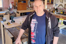 Danny MacNevin is one of many Islanders who are concerned about the rising price of lumber. Submitted photo.