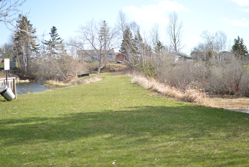 The Marchbank's Pond dam will need some work before the pond can be properly dug out. - SaltWire Network