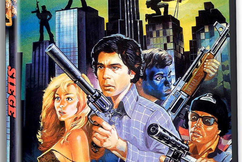 Cult film company Severin Films is releasing a restored version of the Halifax-shot action movie Siege, which hasn't been seen widely seen since its 1980s release on videocassette. - Severin Films