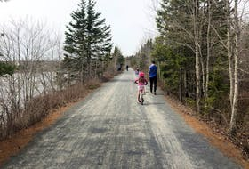 Heather Fegan's family explored the Beechville-Lakeside-Timberlea (BLT) section of the Chain of Lakes Trail section. Part of the Rum Runners Trail, which stretched from Halifax down the South Shore, it was a great way for Heather's kids to bike while she and her husband walked.