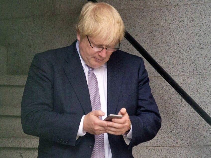 Revelations that British Prime Minister Boris Johnson's personal mobile number has been circulating online for 15 years raised national security concerns on April 30, 2021, amid a raft of probes into his conduct. - AFP