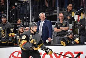 Mike Kelly was an assistant coach with the NHL's Vegas Golden Knights under Summerside native Gerard (Turk) Gallant from 2017-20.