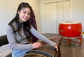 Jing Xia is a PhD student of ethnomusicology at Memorial University. Originally from the city of Yongzhou in China's Hunan province, she plays a traditional instrument called the guzheng. It has been used in her home country for thousands of years. — Andrew Waterman/The Telegram