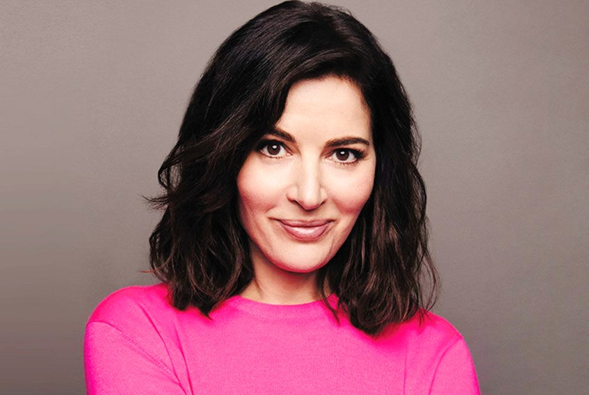 """""""It brought me quite a lot of joy,"""" Nigella Lawson says of writing her 12th book, Cook, Eat, Repeat."""