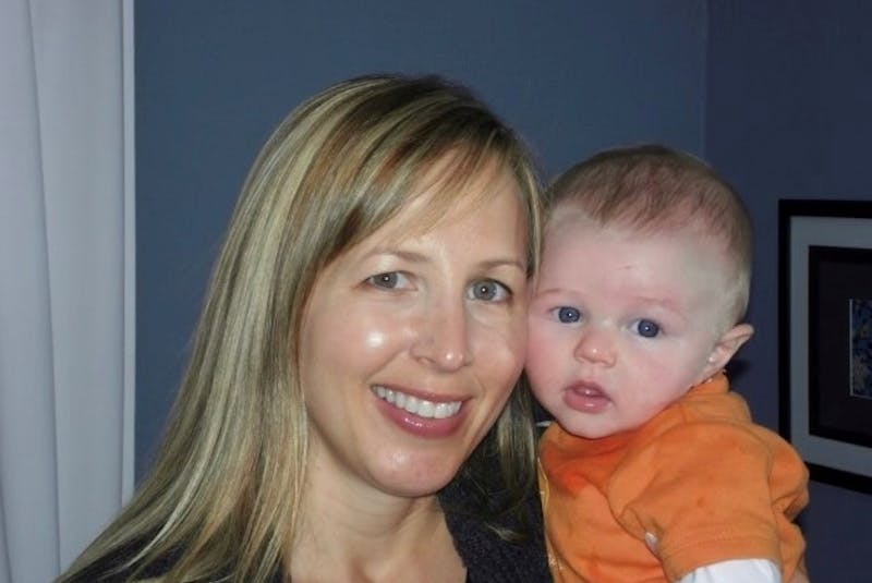 Joanne Agnew has a special bond with her nephew, Will Berrey, pictured here as a baby. Agnew carried Will through a surrogate pregnancy for her sister, Sylvia Berrey. - Contributed