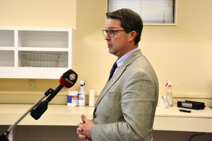 Social Development and Housing Minister Brad Trivers said the Charlottetown Curling Club could be a good location for a permanent home for the daytime outreach centre, currently located at Smith Lodge. - Stu Neatby
