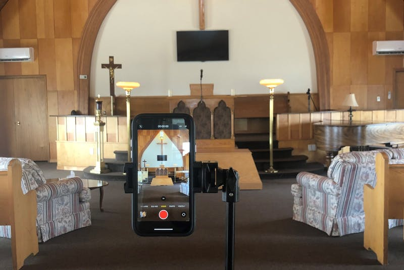 While online streaming of funeral services is not a new thing, it wasn't popular in many Newfoundland communities prior to COVID. Mike Goodyear of Central Funeral Home in Grand Falls has invested in live-streaming options, which allows grieving families to be together during the pandemic.