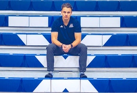 Josh Crouse, the strength and conditioning coach at St. Francis Xavier University since 2018, will work with the national women's softball team this summer ahead of the Olympic Games in Tokyo. Photo by Albert Banahene Jr.