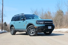 Ford infused its Bronco Sport with a bit of fun. Clayton Seams/Postmedia News