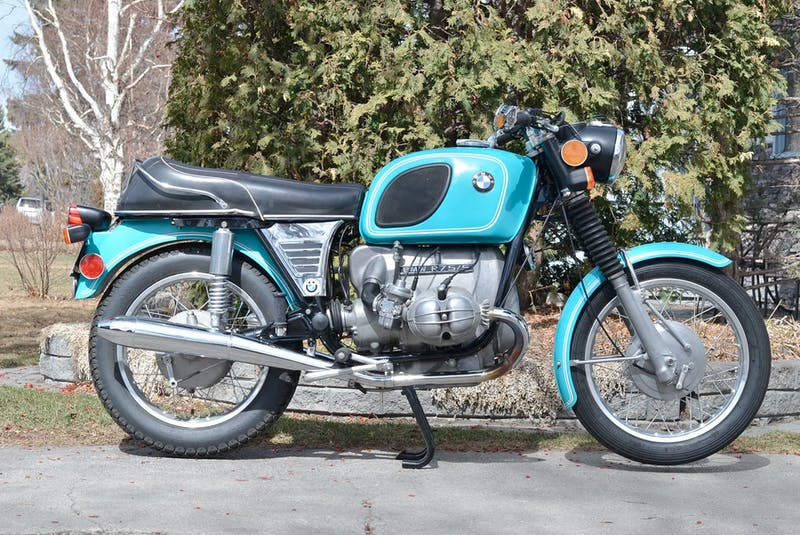 Gord McLellan picked up his 1973 BMW R75/5 project in the fall of 2019, and performed the majority of restoration work during the first COVID lockdown. It was returned to the road late last summer. Photo courtesy of Gord and Krista McLellan	  - POSTMEDIA