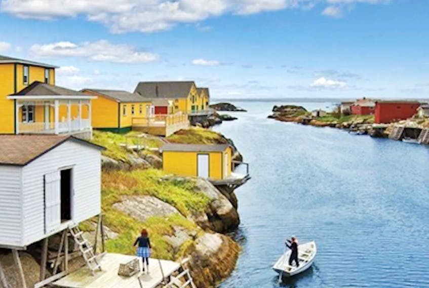 Newtown, located on the Gander Loop on the island of Newfoundland, is dotted with enough canals that it was once called the 'Venice of Newfoundland.' Photo courtesy of www.barbour-site.com