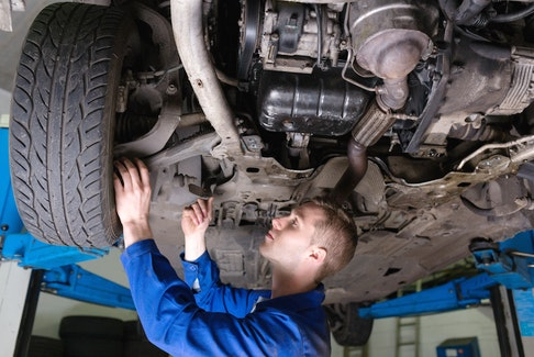 Undercoating a vehicle is a job best left for professionals. 123rf stock photo