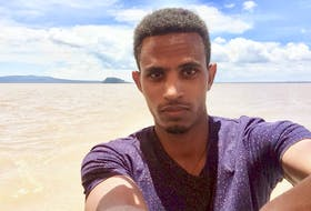 Samuel Chanyalew, of Ethiopia, has two months to find a job in Nova Scotia before his Confirmation of Permanent Residence expires.