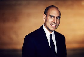 Justin Ladha is the CEO of KMK Capital and board chairman for the St. John's Board of Trade. — David Howells photo