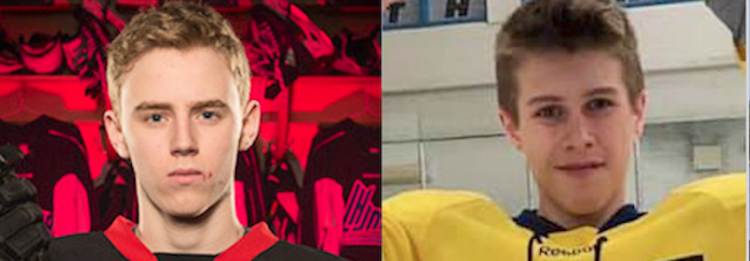 Alex Hutchinson, left, and Ethan Reilly died in a September boating accident. - Contributed